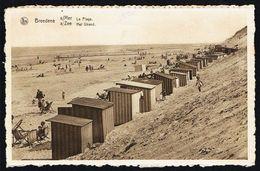BREDENE / BREDUNES - La Plage - Het Strand - Circulé - Circulated - Gelaufen - 1949. - Bredene