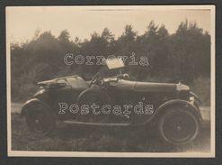 AC Royal Roadster Motor Car, C.1920s - Two Photographs - Cars