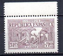 Viñeta Alcazar  3pts  Toledo. - Vignettes De La Guerre Civile