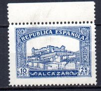 Viñeta Alcazar  10pts  Toledo. - Vignettes De La Guerre Civile