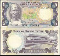 Sierra Leone 5 Leones 1984 XF- - Sierra Leone