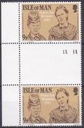 Man, 1981, 192, 100 Jahre Frauenwahlrecht. Gutter Pair. MNH **, - Man (Eiland)