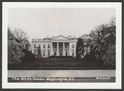 The White House, Washington DC, USA, C.1930s - H H Rideout Press Photograph - Places