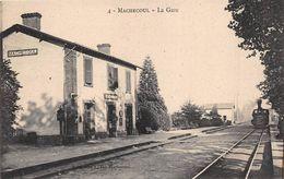 ¤¤   -   4   -   MACHECOUL   -   La Gare  -  Train , Chemin De Fer     -  ¤¤ - Machecoul
