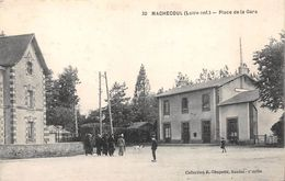 ¤¤   -   20   -   MACHECOUL   -   Place De La Gare  -  Chemin De Fer     -  ¤¤ - Machecoul