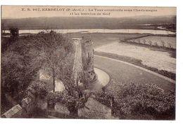 HARDELOT: La Tour Construite Sous Charlemagne Et Les Terrains De Golf - Otros Municipios
