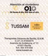 España : Sevilla => Aeropuerto / TUSSAM Bus - Bus