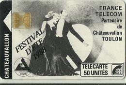 Télécarte Châteauvallon 7-88 50 U Sc4 Tirage 10000 - France