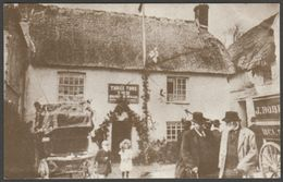 The Three Tuns In 1907, St Keverne, Cornwall, 1979 - Treleague Repro Postcard - Other