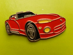 Pin´s -   AUTOMOBILE  - CHRYSLER DODGE VIPER - Pin's