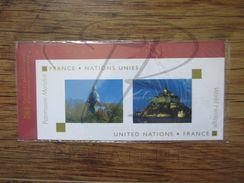 EMISSION COMMUNE SOUS BLISTER : FRANCE - NATIONS UNIES , 2006 !!! - Sheetlets