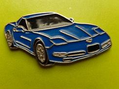 Pin´s -   AUTOMOBILE  -  CHEVROLET CORVETTE - Corvette