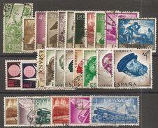 1958-AÑO COMPLETO SIN H.B. BRUSELAS-USADO - Espagne