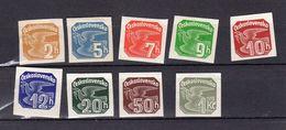 1937  Pigeon Y 17 -25 * - Newspaper Stamps