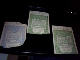 Ticket D Entree Vsite Des Anciennes Prison De La Ville De Venise Lot De 3 - Tickets D'entrée