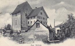 """Zug - Schloss - Stabstempel """"Thalweil"""" - 1904   (P-57-50618) - ZG Zoug"""