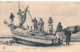 Cpa 17 Pointe Du Chapus Groupe Pêcheuses Huitres - Marennes