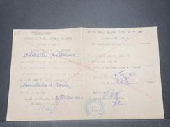 FRANCE - Laissez Passer Franco /  Allemand De Salie De Giraud En 1944 - L 9141 - Documentos