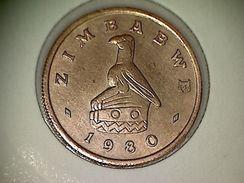 Zimbabwe 1 Cent 1980 - Zimbabwe