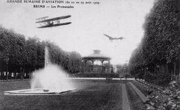 Grande Semaine D'Aviation De 1909: Les Promenades. - Reims