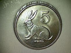 Zimbabwe 5 Cents 1980 - Zimbabwe