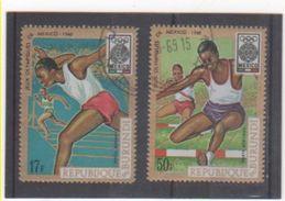 BURUNDI P.A. 1968 YT N° 96-98 Oblitéré - Burundi