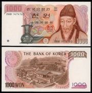 Korea South 1000 Won 1983 Pick 47 UNC - Korea, South