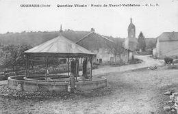 Gonsans Lavoir Fontaine Canton Roulans - France
