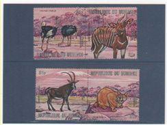 BURUNDI P.A. 1971 YT N° 211 à 214 Oblitéré - Burundi