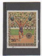 BURUNDI P.A. 1972 YT N° 245 Oblitéré - Burundi