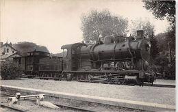 ¤¤  -  Carte-Photo  -    Train En  Gare  , Chemin De Fer  -  Machine Du NORD N° 4.776  -  ¤¤ - Eisenbahnen
