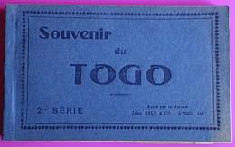 Rarissime Carnet De 25 Cartes Postales Anciennes De Lomé Au Togo Afrique Cpa Marché Gare Maternité Hopital Hotel ... - Togo