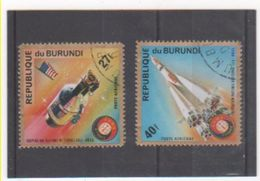 BURUNDI P.A. 1975 YT N° 361-366 Oblitéré - Burundi