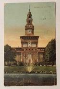 MILANO - LA TORRE FILARETE 1926  VIAGGIATA FP - Milano