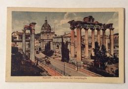 ROMA FORO ROMANO DAL CAMPIDOGLIO 1926  VIAGGIATA FP - Autres