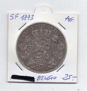 Belgio - 1873 - 5 Franchi Leopoldo II° - Argento - (MW83) - 09. 5 Franchi