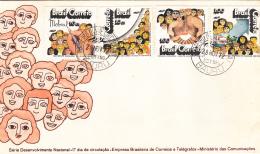 Brazil FDC 1972 Scott #1262-#1265 Set Of 4 - FDC
