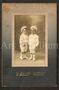 Cabinet Card / Photo De Cabinet / Kabinet Foto / Boys / Garçons / Enfants / Children / Photo G. Baert / Tourcoing - Ancianas (antes De 1900)