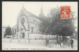 BOURG Sur GIRONDE L'Eglise Saint Géronce (AM) Gironde (33) - France