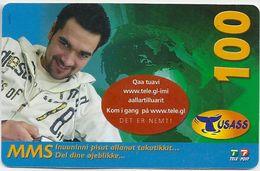 Greenland - Tusass - Sportman, GSM Refill, 100kr. Exp. 19.12.2009, Used - Greenland
