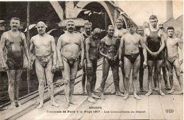 SPORT Traversee De Paris A La Nage En 1907 - Otros