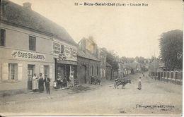 BEZU SAINT ELOI Grande Rue Animée - France