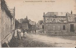 NOUVION LE COMTE  - RUE DE L ' EGLISE - France