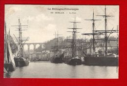 1 Cpa Carte Postale Ancienne - Morlaix Le Port - Waron 639 - Morlaix