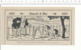 2 Scans Humour De 1937 Cloche à Melon Jardin Panaris / Mécanicien Auto ?? Voiture Citroên Traction ?? 209PF2 - Sin Clasificación