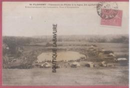 45 -ST FLORENT (SAINT FLORENT) Concours De Peche A La Ligne 23 Juillet 1906-Emplacement Du Concours- - Saint-Florent-sur-Cher