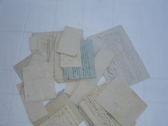 Lettres De Belgique Sans Enveloppes - Alte Papiere