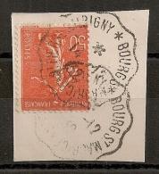 Convoyeur BOURG ST MAURICE A ST PIERRE D'ALBIGNY. 1932 - Marcofilia (Sellos Separados)