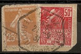 Hexagonal CHAUX Territoire De Belfort. 1931 - 1921-1960: Periodo Moderno