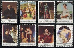 St Vincent ** N° 1655 à 1662 -  Tableaux - St.Vincent (1979-...)